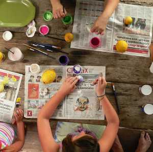 Developing Well-Rounded Children Through Art