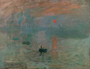 Examination of Monet's 'Impression, Sunrise'