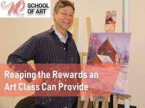 Reaping the Rewards an Art Class Can Provide
