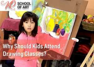 Why Should Kids Attend Drawing Classes?